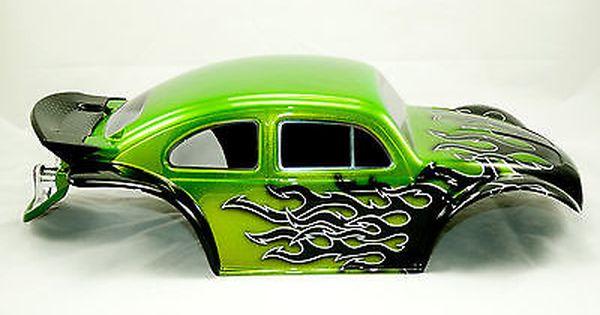 Custom Painted Rc Body Baja Bug Fits Traxxas Slash 2wd 4x4 Ae Sc10 Pro 2 Traxxas Traxxas Slash Traxxas Slash 2wd