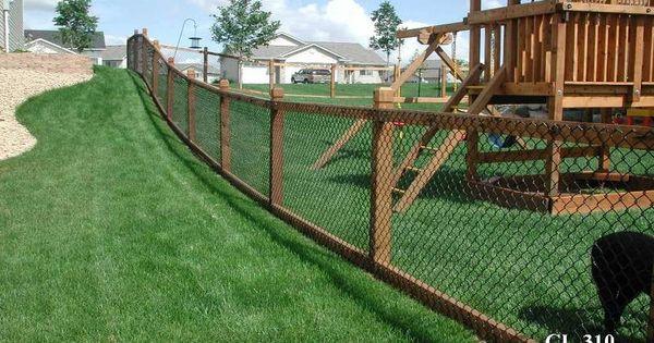 California Style Chain Link Fences Minneapolis St Paul