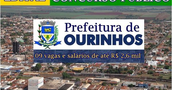 Apostila Concurso Prefeitura De Ourinhos Fiscal De Posturas 2018