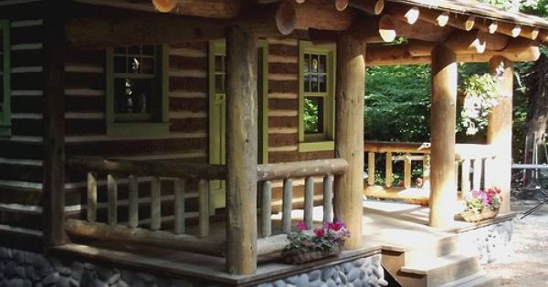 Rebbecca S Little Log Cabin Little Log Cabin Cabin House Styles