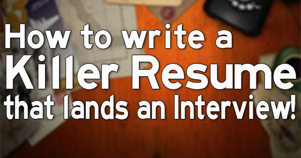 Fantastic resume writing tips from professional resume writers!