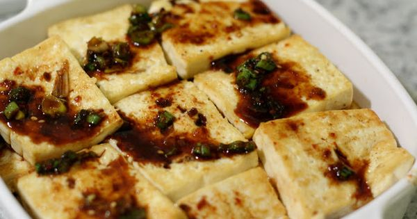 banchan spicy tofu | Vegan month | Pinterest | Tofu, Spicy and Html