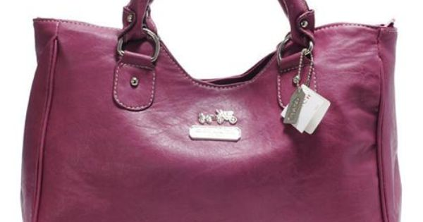 Look Here Coach Legacy Large Fuchsia Satchels ABX Outlet