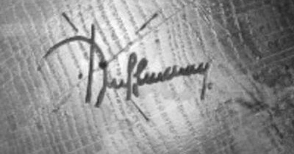 Signature 2 Ruhlmann Emile Jacques Artiste Contemporain Mobilier De Salon Deco Maison