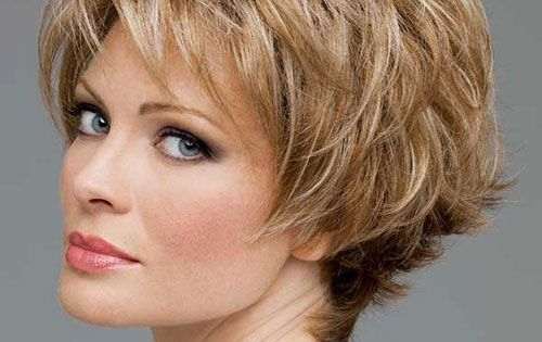 Hair Styles For Older Women With Thin Hair: Short Haircuts For Women With Fine ,thin Hair Over 50