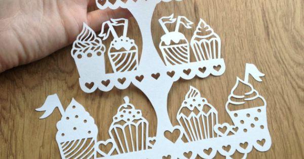 40% SUMMER SALE SVG / Pdf Cupcake Stand Design ...