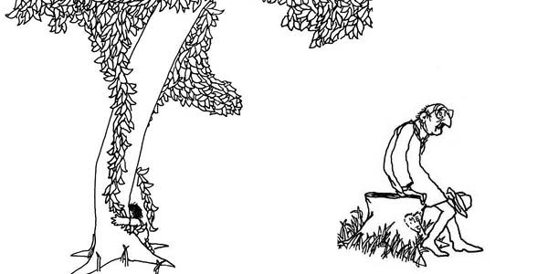The Giving Tree Shel Silverstein Tree Coloring Page The Giving
