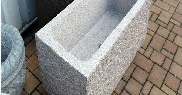 steintrog aus granit brunnentrog wassertrog garten brunnen pinterest brunnen. Black Bedroom Furniture Sets. Home Design Ideas