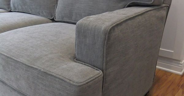 Slipcover Made For A Contemporary Harding Sofa Using