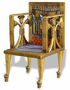 Incredible Throne Of Hetepheres Egyptian Furniture Ancient Egyptian Pabps2019 Chair Design Images Pabps2019Com