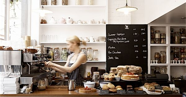 And our favorite London coffee shop - are you getting the picture