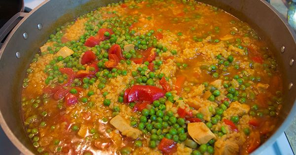 Arroz con pollo cubano vivir mi vida pinterest arroz for Azafran cuban cuisine