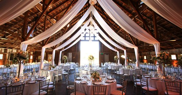 Rustic glam wedding reception decor