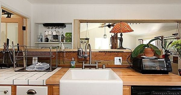 California bungalow kitchen places spaces for Indian kitchen coral springs