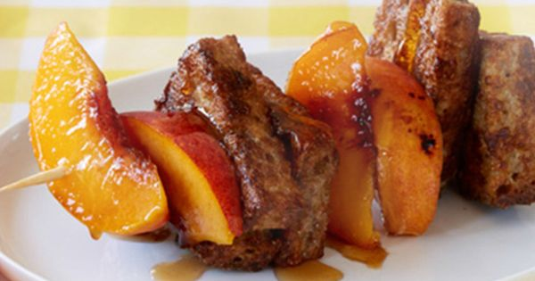 French toast, Toast and Kebabs on Pinterest