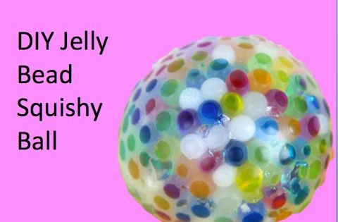 Jelly Bead Squishy Ball - Great idea for occupational therapy, especially for sensory processing ...