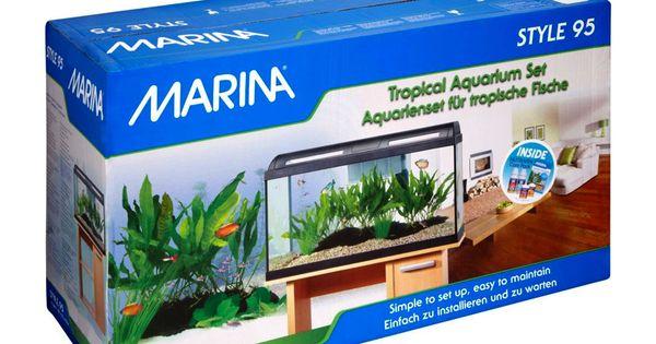 ... style-95-tropical-aquarium-set/ Fish Aquarium Online Pinterest