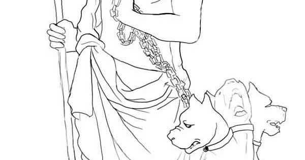 How to Draw Hades and Cerberus