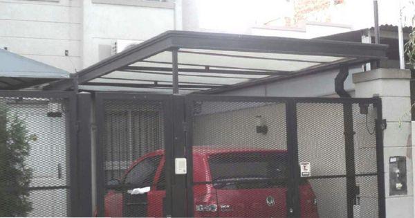 Resultado de imagen para techos de policarbonato frente for Cobertizos prefabricados metalicos