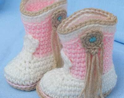 ♥ Baby cowgirl boots