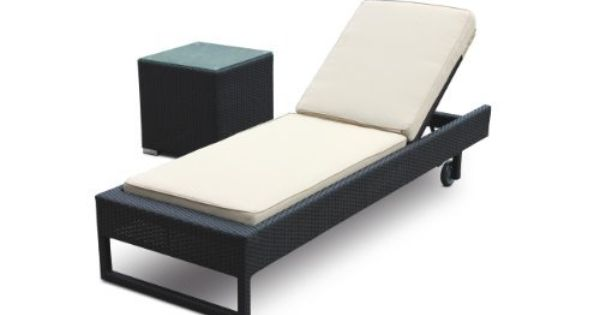 Ourea 2 piece chaise lounge set by luxus outdoor patio for 750 sofa chaise