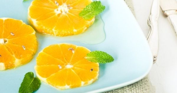 Oranges with Lavender and Mint | Lavender, Mint and Orange