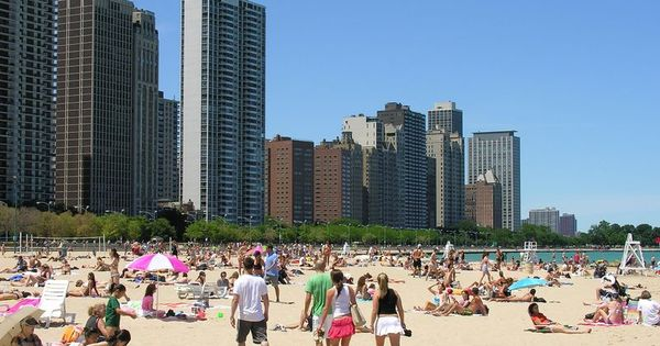 chicago beach memorial day