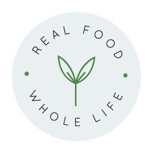 New Brand Website Design For Real Food Whole Life Nutrition Logo Design Healthy Food Logo Healthy Food Branding