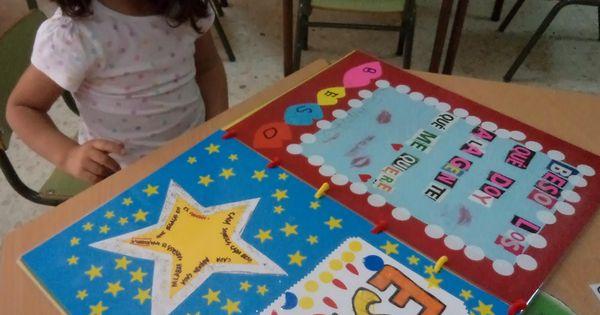 Mis cositas de infantil: EL LIBRO DE LAS PALABRAS BONITAS | INGLÉS