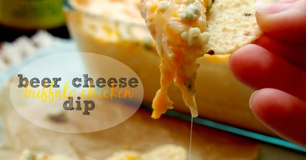 Chicken dips, Beer cheese and Buffalo on Pinterest