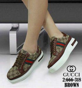 Sepatu Kets Wanita Terbaru Guc Ci 666 318 Terlaris Ke Surabaya