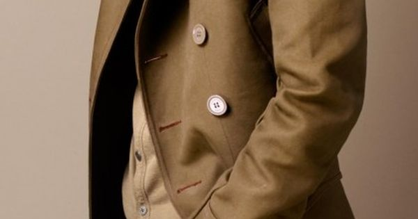 Always love a good trench coat.