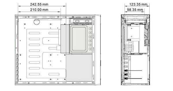 Resultado De Imagen Para Medidas De Un Cpu Figuras Geometricas Para Ninos Medidas De Proyectos Escolares