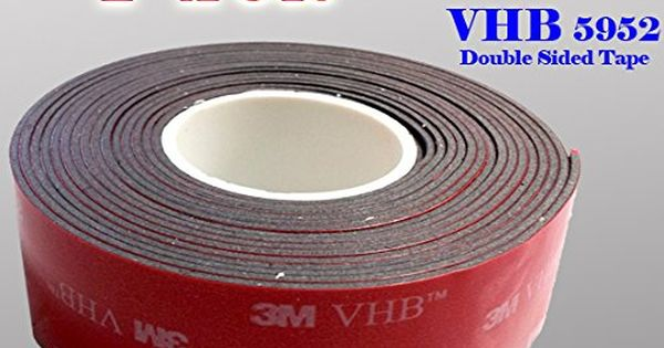 3m 1 Quot 25mm X 9 Ft Vhb Double Sided Foam Adhesive Tape