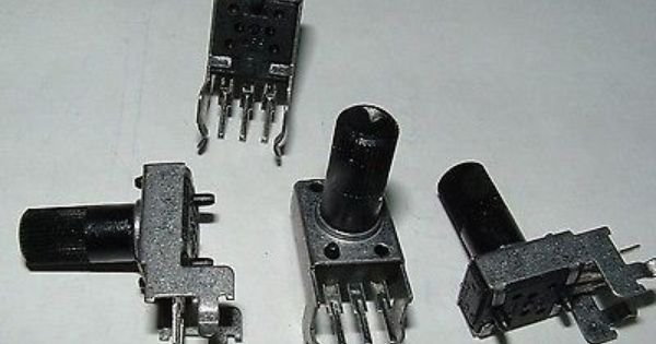 Pack Of 10 Rk09k 10k Linear Mini Potentiometer Pcb Mount Pot Control I Shop Mini 10k