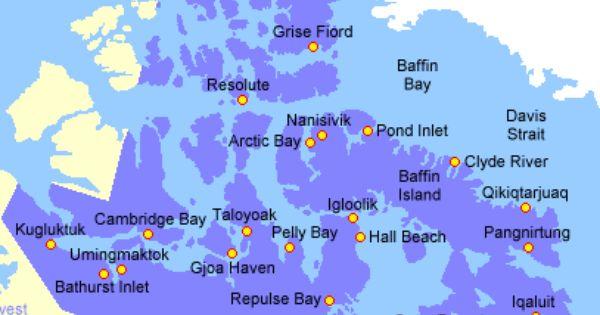 baker lake nunavut map