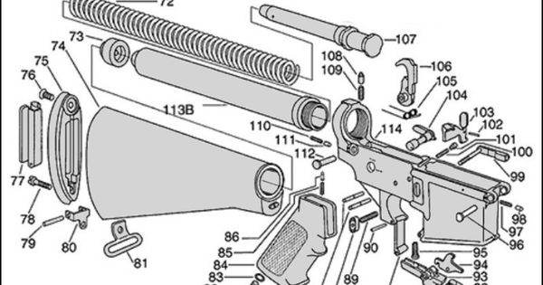 ar 15 diagram mat ar 15 nomenclature diagram