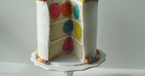 party Food: Polka Dot Cake from Bake Pop Pan