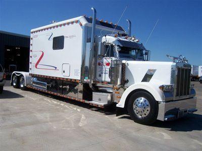 Trucking Custom Sleeper Trucks Semi Trucks Trucks Big