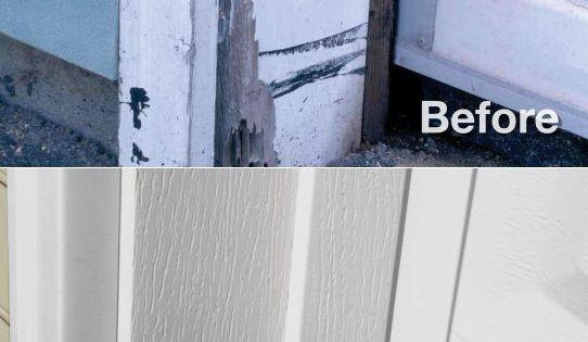 Vinyl Garage Door Trim And What You Need To Know Vinyl Garage Doors Garage Door Trim Garage Windows