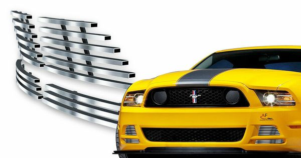 Ebay Sponsored Fits 2013 2014 Ford Mustang Gt Stainless Steel Fog Light Cover Billet Grille Ford Mustang Gt Ford Mustang 2014 Ford Mustang