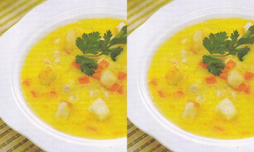 Resep Dan Cara Membuat Sup Krim Kental Bahan Untuk 4 Porsi 100 G Jagung Manis Pipil 700 Sup Krim Makanan Dan Minuman Resep Masakan