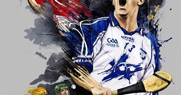 Gaa Hurling By Tomasz Usyk Via Behance Art Draw Stuff