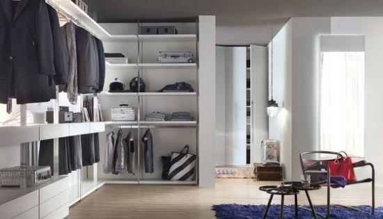 offener kleiderschrank flexible wandregal systeme von lema | home, Möbel