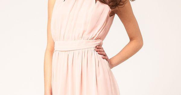 ASOS Mini Dress with Grecian Detail