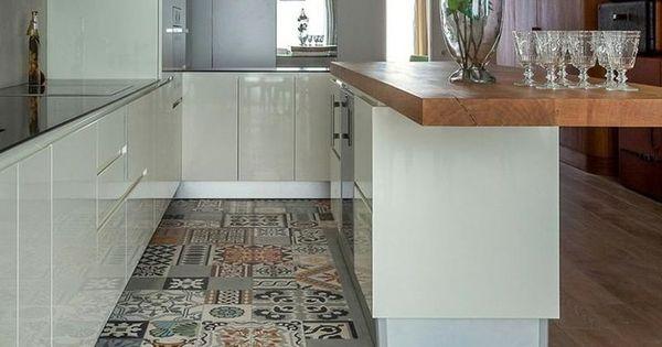 20 transiciones de suelos laminados para no renunciar a - Laminados para cocina ...