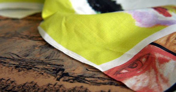 How-To: Print on Fabric with an Inkjet Printer by Andrew Lewis, craftzine.