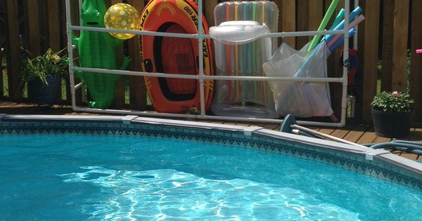 Pool Float Storage Pool Stuff Pinterest Pool Float