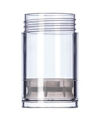 1 Oz Clear Plastic Push Up Deodorant Container Deodorant Containers Plastic Jars Glass Containers