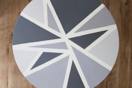 Amatxi Deco Creations Table Basse Sur Le Theme De L Enveloppe Peinture Avec Chalk Paint Tm Peinture Decorative Par A Mobilier De Salon Deco Interieure Deco